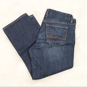 Lucky Brand sweet jean crop denim jeans 8/29